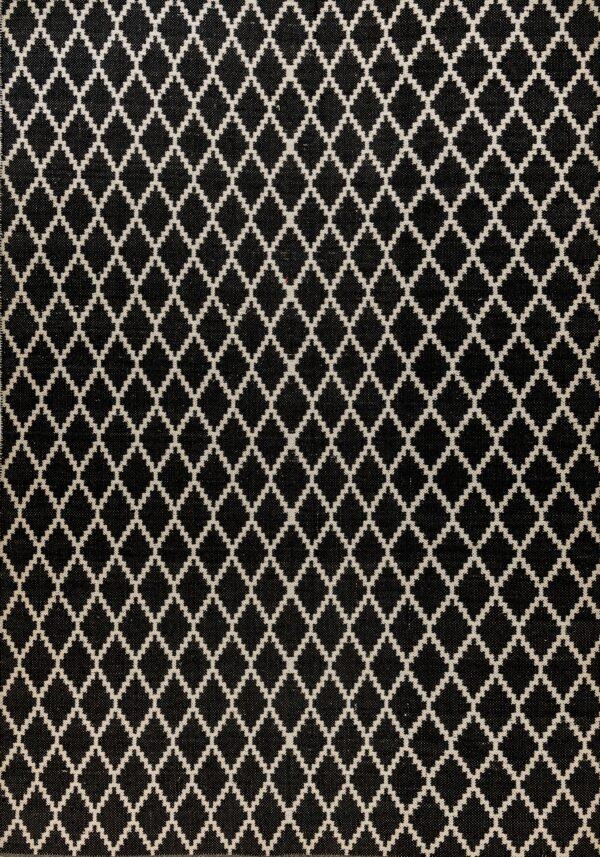 קילים כותנה שחור לבן