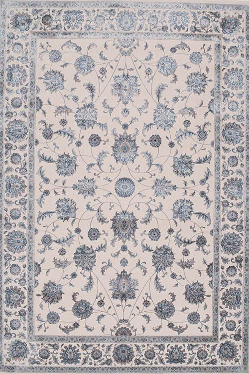 שטיח מודרני דוגמא קלאסית אפור