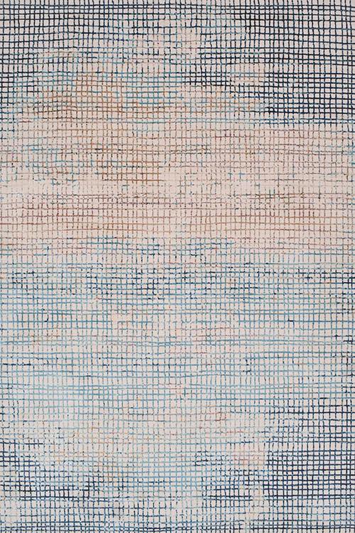 שטיח מודרני כחול