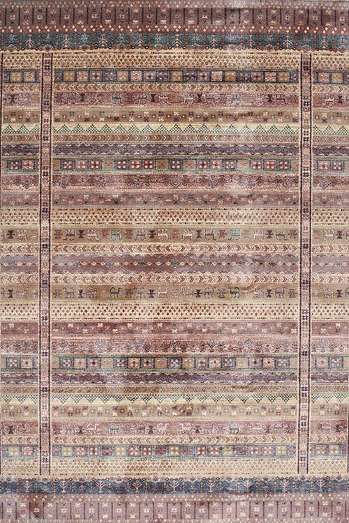 שטיח וינטייג' אתני צבעוני