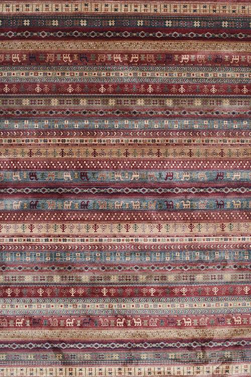 שטיח וינטייג' אתני אדום